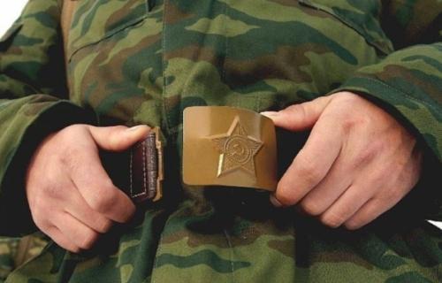 Одеваем военную форму
