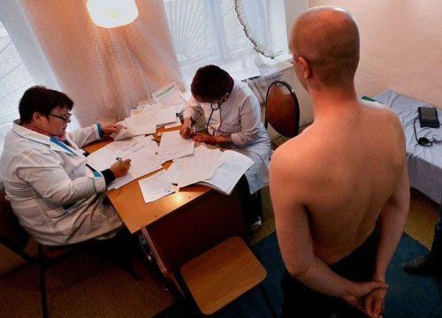 Прохождение медицинского обследования в военкомате