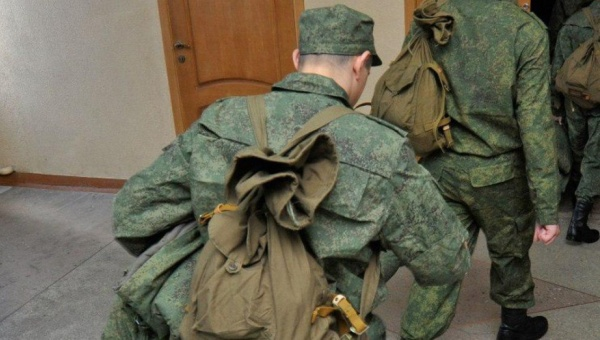 Отправка на службу в армию