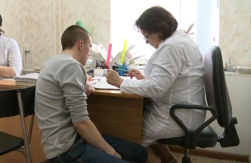Работа призывной врачебной комиссии