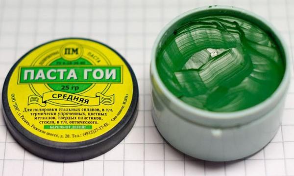 Зеленая паста ГОИ