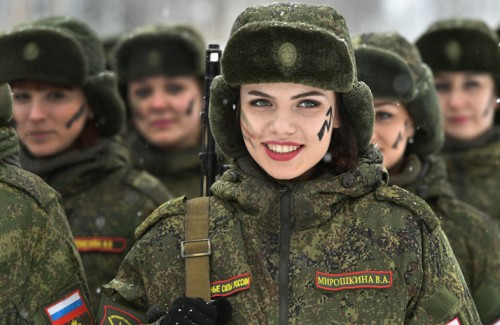 Служба в армии для девушек