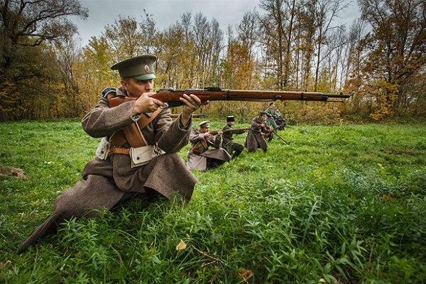 Военная форма начала ХХ века