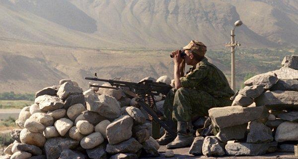 Служба в Таджикистане