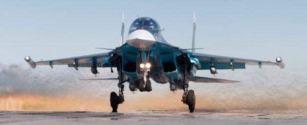 Современный боевой самолет