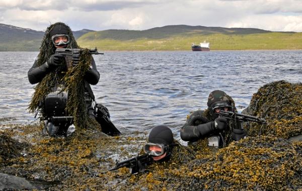 Учения морской пехоты