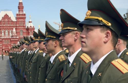 Офицер российской армии