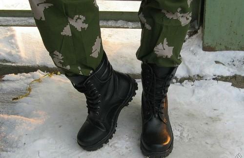 Современная солдатская обувь