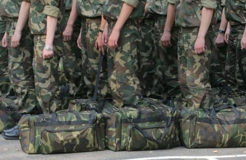 Отправка военных к месту службы