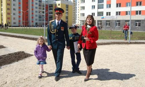 Полноценная военная семья