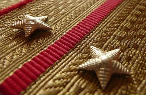 Порядок присвоения воинских званий