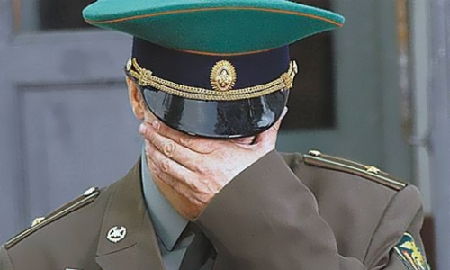 Военный офицер