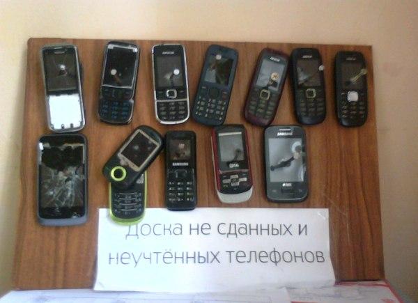 Найденные у солдат телефоны