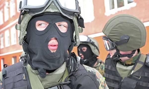 Военные по контракту