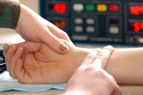 Проверка пульса