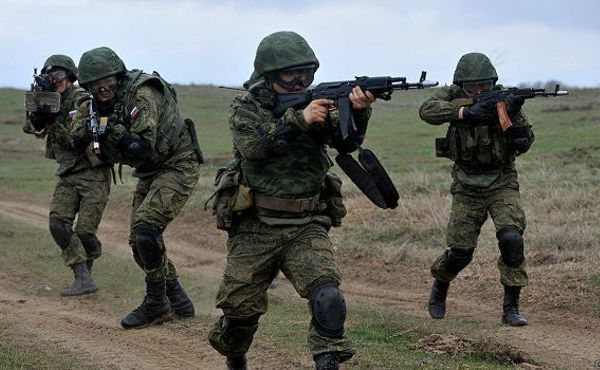 Солдаты отечественной армии