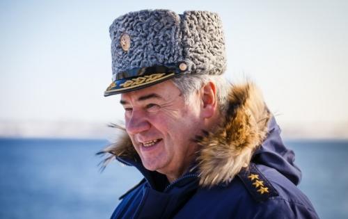 Генерал в зимней форме