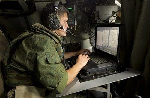 Современный военный связист