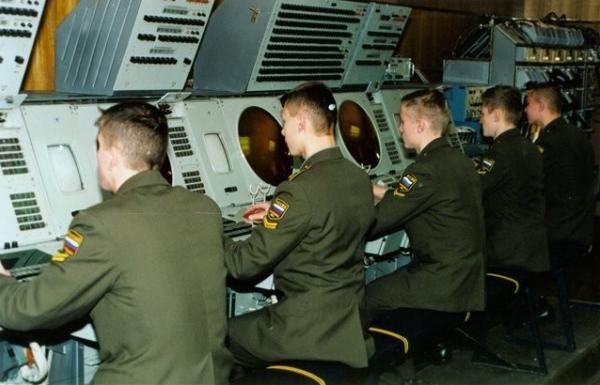 Офицеры ракетных войск