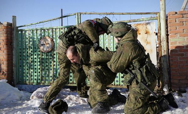 Задержание военного