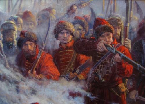 Стрельцы на войне
