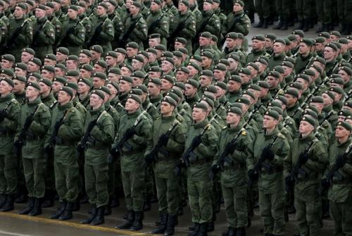 Современные русские солдаты