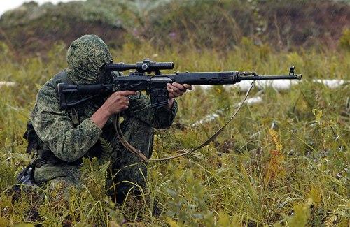 Как стать снайпером в армии