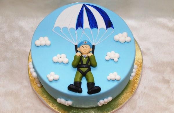 Десантник с парашютом