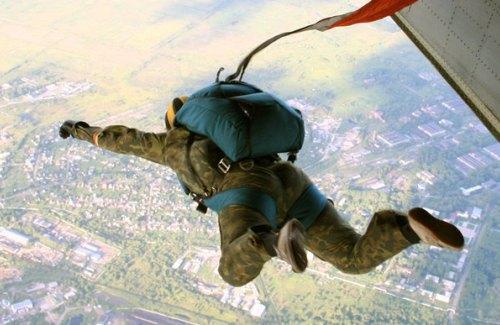 Прыжок из самолета