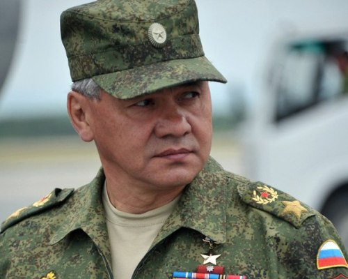Генерал в военной форме