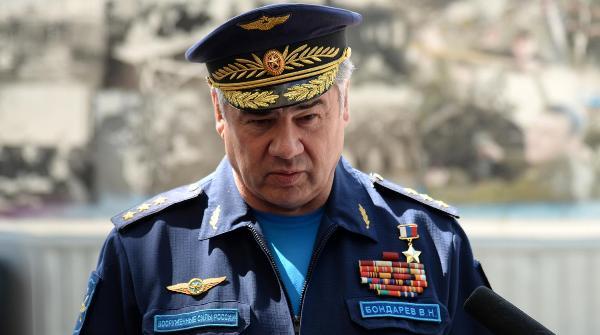 В.Н. Бондарев - старый главком ВКС