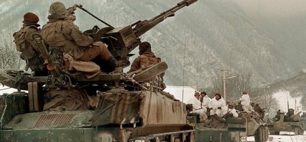 Колонна в Афганистане