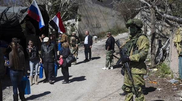 Сирийские военные будни