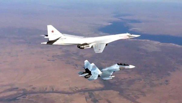 Самолеты в небе Сирии