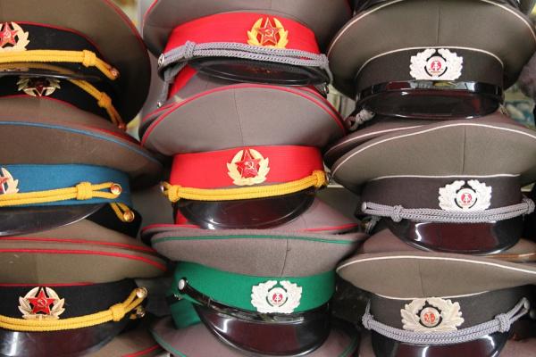 Фуражки офицеров