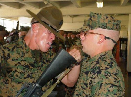 Муштра в армии США