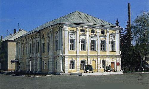 Училище в городе Коломна