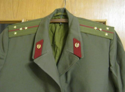Пальто офицера армии СССР