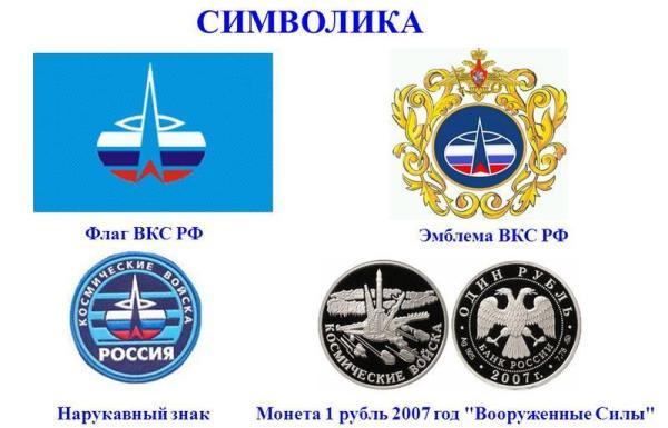 Символика ВКС