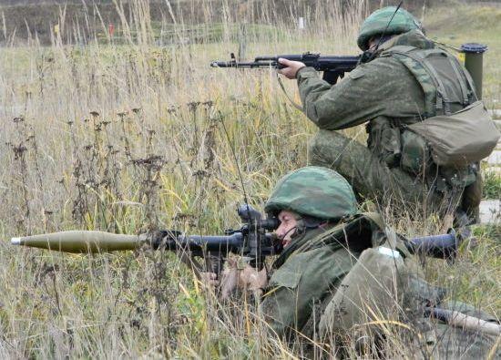 Солдаты готовы к бою