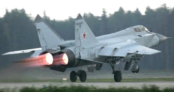 Боевой самолет МиГ-31БМ