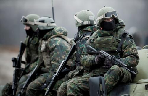 Солдаты спецназа