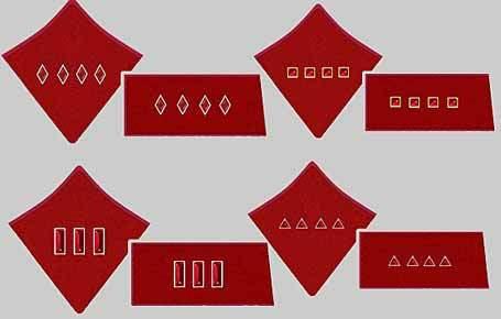 Металлические знаки отличия