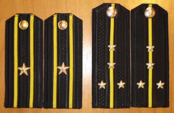 Погоны моряков