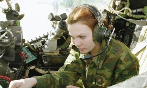 Женская работа на военной базе
