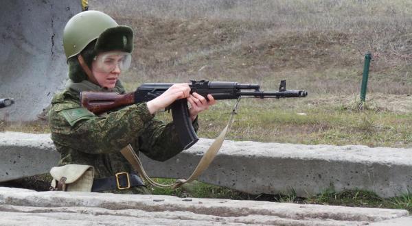 Учения с оружием