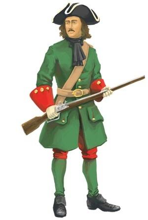 Представитель петровской армии