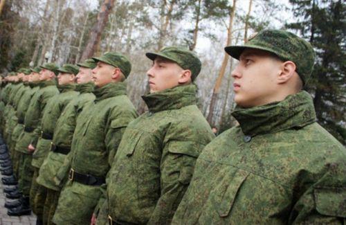 Свежее пополнение рядов ВС РФ