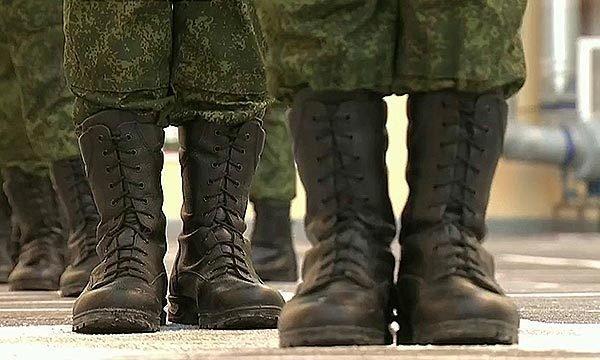 Солдатские берцы