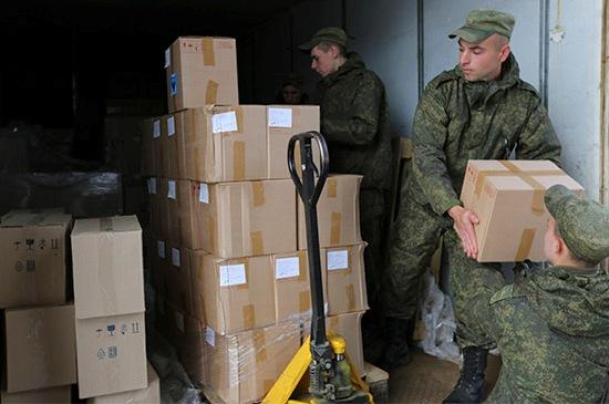 Поставка продуктов в воинскую часть